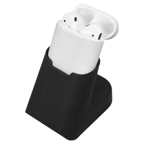 Compact Dock Desktop Charging Stand Holder for Apple AirPods - Black